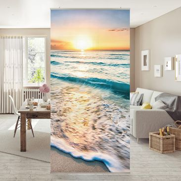 Immagine del prodotto Tenda a pannello - Sunset At The Beach - 250x120cm