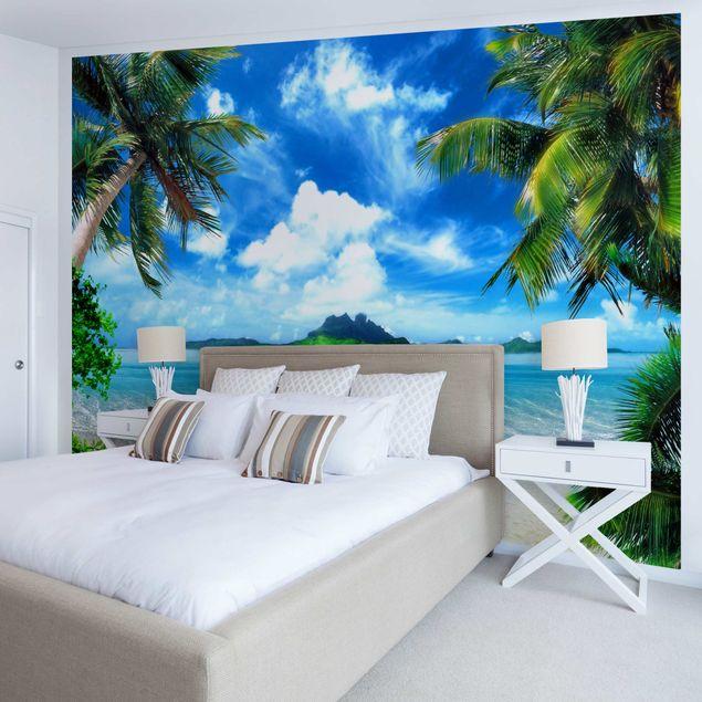 Produktfoto Tapete selbstklebend - Traumurlaub - Wandbild Querformat