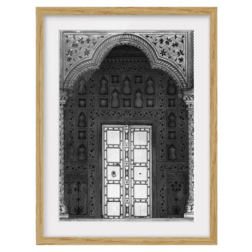 Product picture Framed print - White Door - Portrait...
