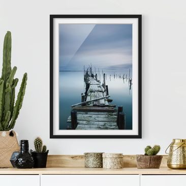 Product picture Framed print - Timeless Bridge -...
