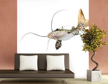 Produktfoto Unterwasser Fototapete selbstklebend - Katzenfisch