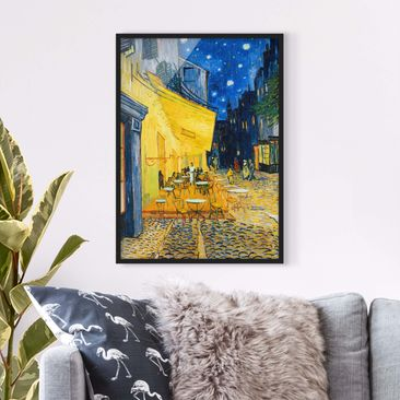 Product picture Framed print - Vincent Van Gogh - Café...