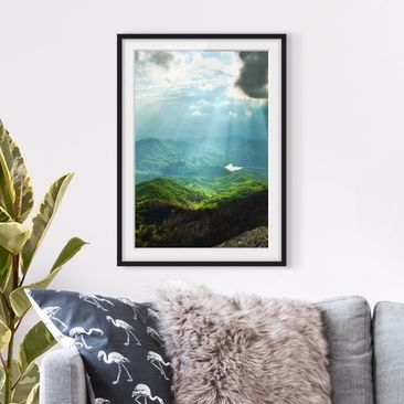 Product picture Framed print - Heavenly Ground -...