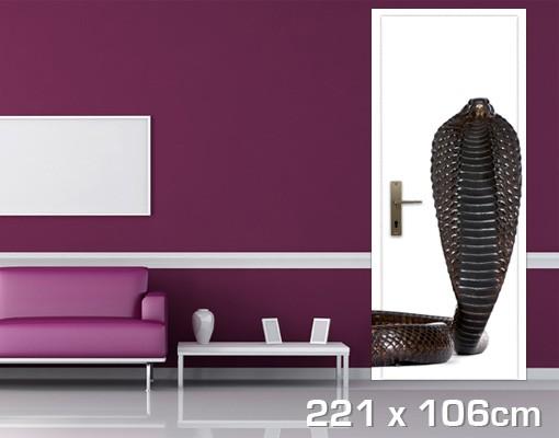 Produktfoto TürTapete Egyptian Cobra