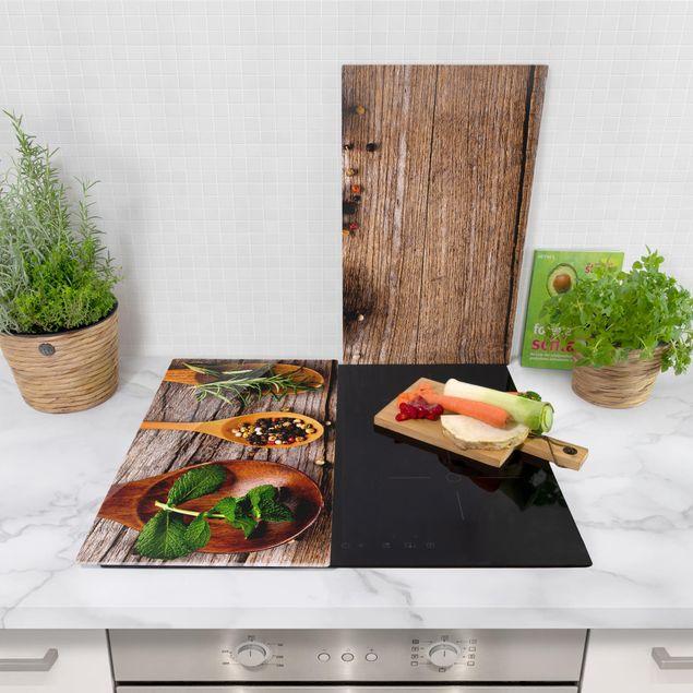 Immagine del prodotto Coprifornelli in vetro - Herbs And Spices - 52x60cm