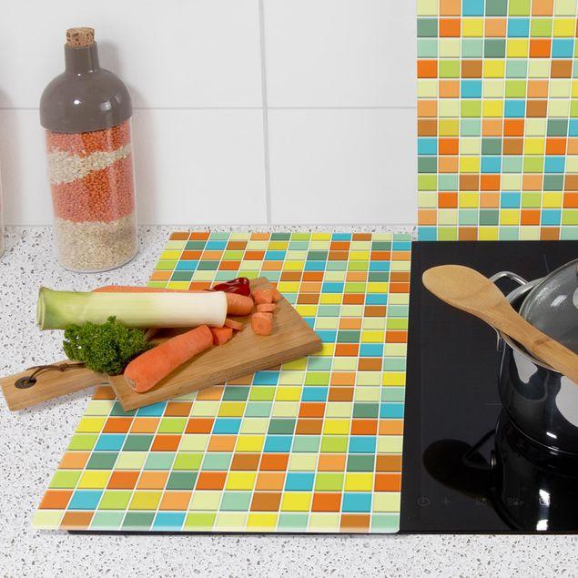 Immagine del prodotto Coprifornelli in vetro - Mosaic Tiles Sommerset - 52x60cm