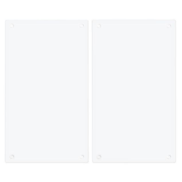 Produktfoto Herdabdeckplatte Glas - Pastellblau - 52x60cm, Unterseite, Artikelnummer 227790-FB