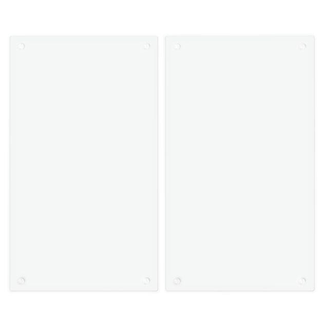 Produktfoto Herdabdeckplatte Glas - Türkis - 52x60cm, Unterseite, Artikelnummer 227828-FB