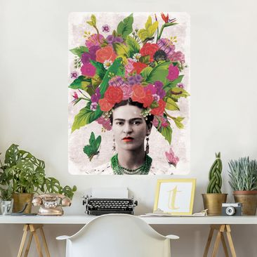 Product picture Wall Mural - Frida Kahlo - Flower...
