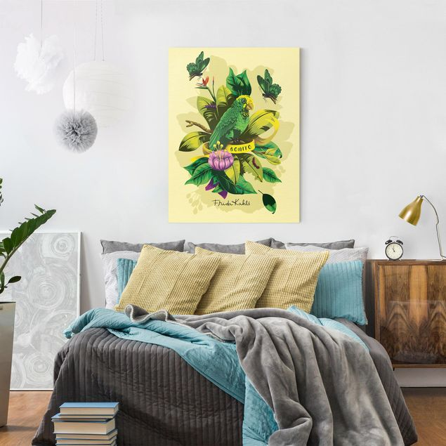 Produktfoto Leinwandbild - Frida Kahlo - Bonito - Hochformat 4:3