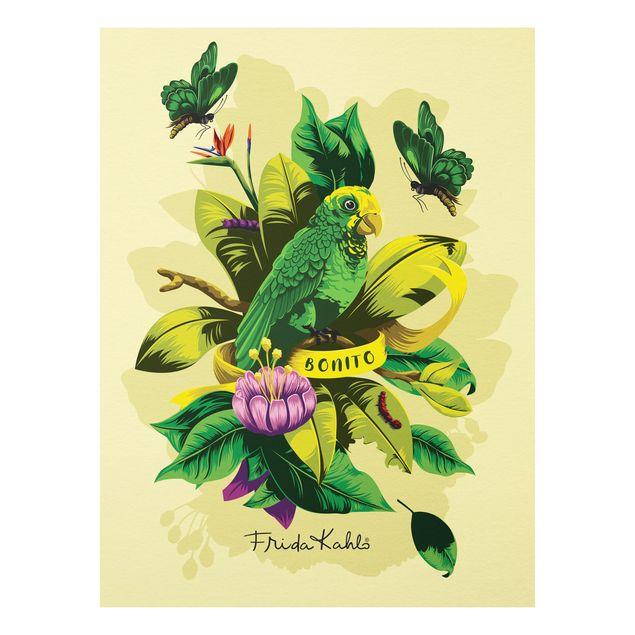 Produktfoto Forex Fine Art Print -Frida Kahlo - Bonito- Hochformat 4:3