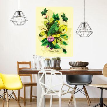 Produktfoto Selbstklebendes Wandbild - Frida Kahlo - Bonito - Hochformat 4:3