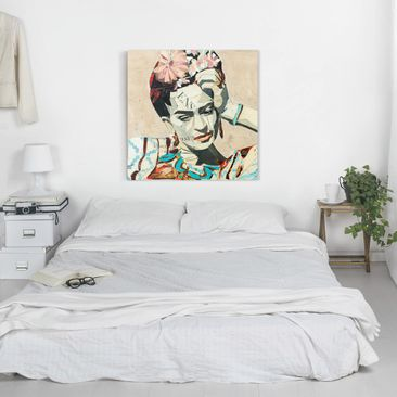 Product picture Canvas Art - Frida Kahlo - Collage No.1...