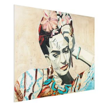 Produktfoto Forex Fine Art Print -Frida Kahlo - Collage No.1- Querformat 3:4
