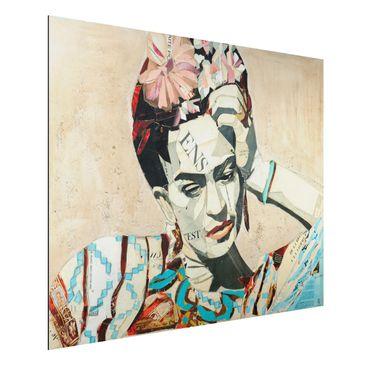Produktfoto Aluminium Print - Frida Kahlo - Collage No.1 - Querformat 3:4