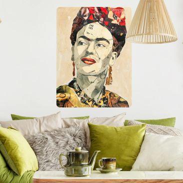 Produktfoto Selbstklebendes Wandbild - Frida Kahlo - Collage No.2 - Hochformat 3:2