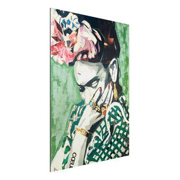 Immagine del prodotto Stampa su alluminio - Frida Kahlo - Collage No.3 - Verticale 4:3