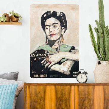 Immagine del prodotto Poster adesivo - Frida Kahlo - Collage No.4 - Verticale 3:2