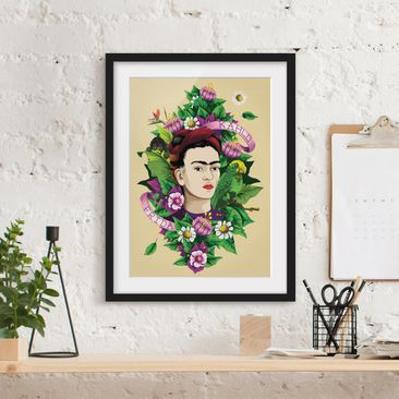 Product picture Framed print - Frida Kahlo - Frida,...