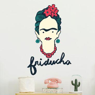 Immagine del prodotto Adesivo murale - Frida Kahlo - Friducha