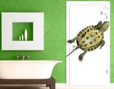 Immagine del prodotto Carta da parati adesiva per porte - Go ahead turtle
