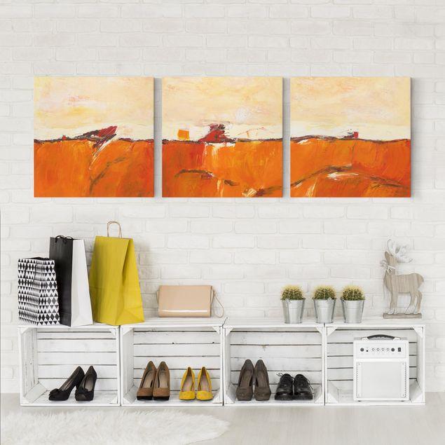 Produktfoto Leinwandbild 3-teilig - Petra Schüßler - Das Geheimnis - Quadrate 1:1