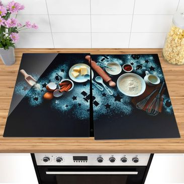 Product picture Glass hob cover - Baking For Stargazers...