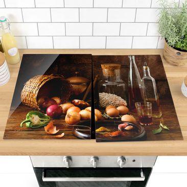 Immagine del prodotto Coprifornelli in vetro - Cooking Fragrances - 52x80cm