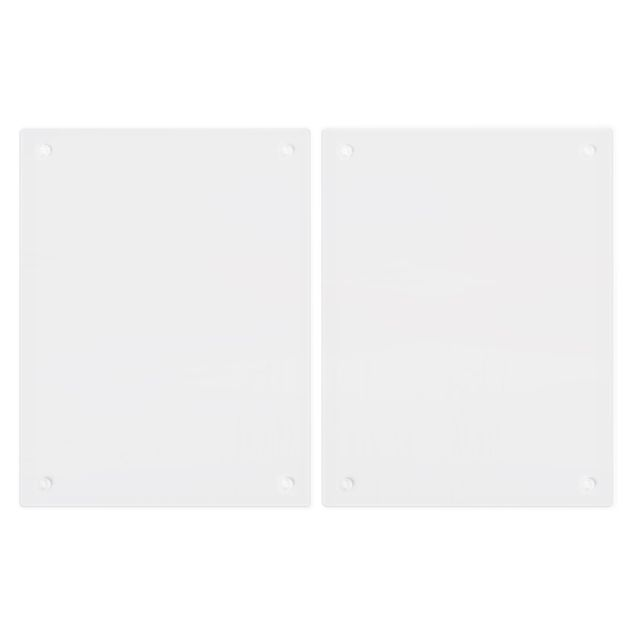 Produktfoto Herdabdeckplatte Glas - Idylle am See - 52x80cm, Unterseite, Artikelnummer 228497-FB