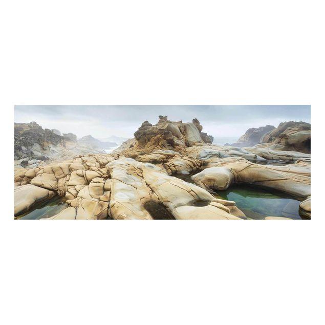 Produktfoto Glasbild - Salt Point State Park - Panorama