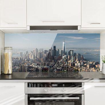 Produktfoto Spritzschutz Glas - Blick vom Empire State Building - Panorama