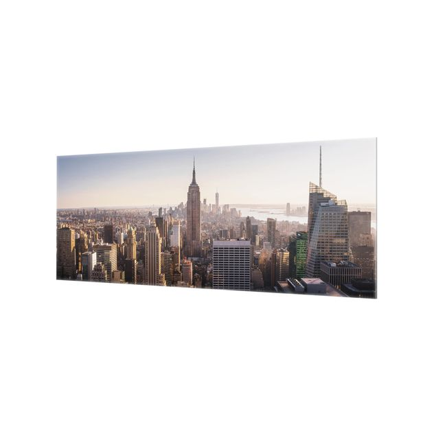 Produktfoto Spritzschutz Glas - Blick vom Top of the Rock - Panorama