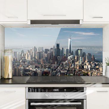 Immagine del prodotto Paraschizzi in vetro - View From Empire State Building - Orizzontale 1:2