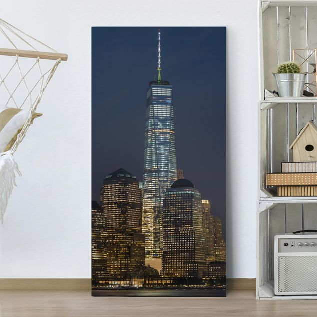 Produktfoto Leinwandbild - One World Trade Center - Hochformat 2:1