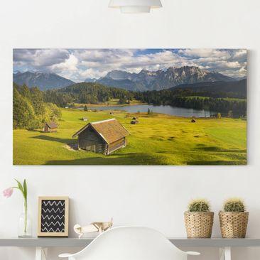 Immagine del prodotto Stampa su tela - Geroldsee Upper Bavaria - Orizzontale 1:2