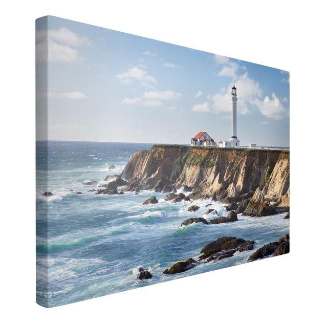 Produktfoto Leinwandbild - Point Arena Lighthouse Kalifornien - Querformat 2:3
