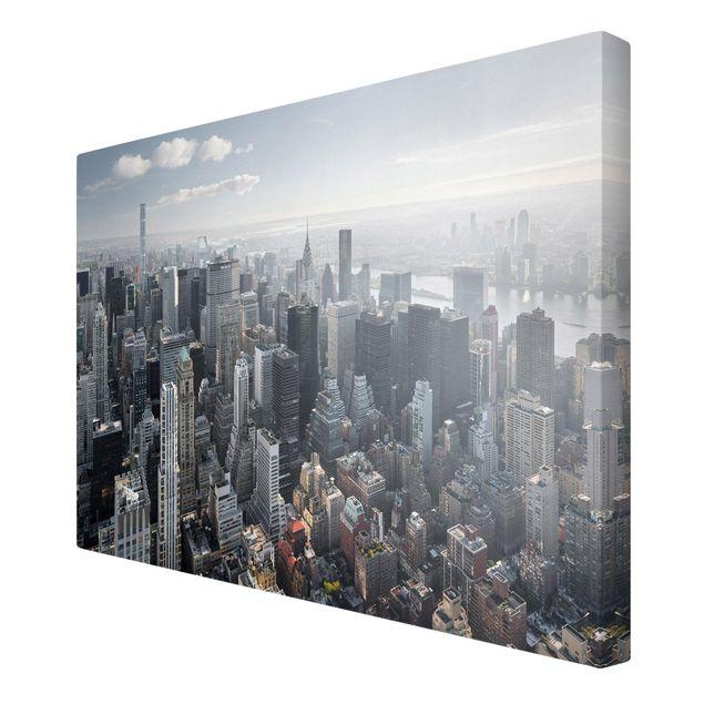 Produktfoto Leinwandbild - Upper Manhattan New York City - Querformat 2:3