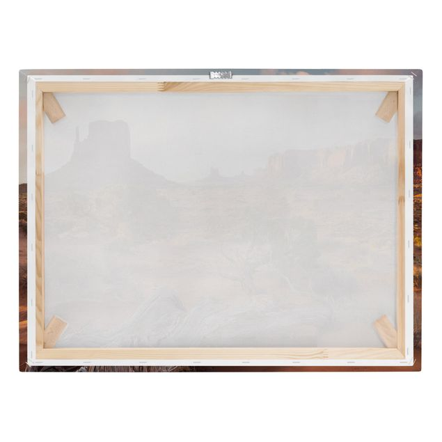 Produktfoto Leinwandbild - Monument Valley Navajo Tribal Park Arizona - Querformat 3:4