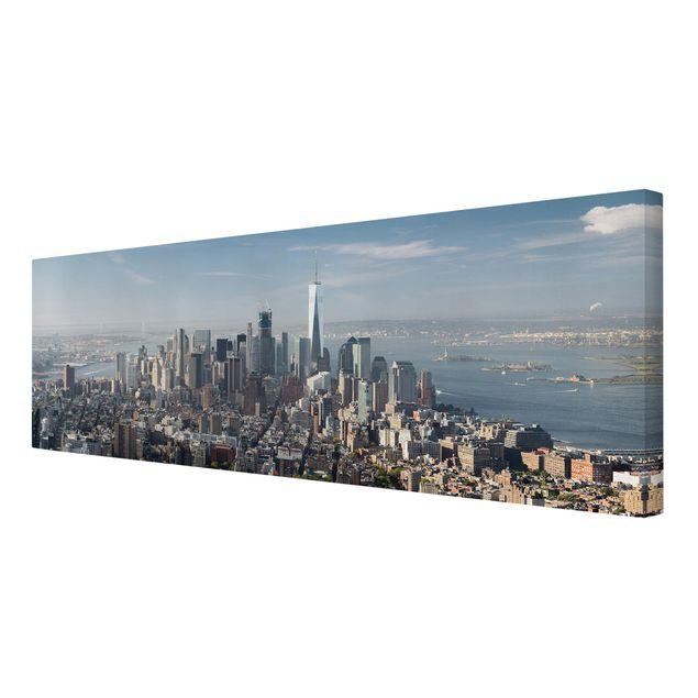 Produktfoto Leinwandbild - Blick vom Empire State Building - Panorama 1:3