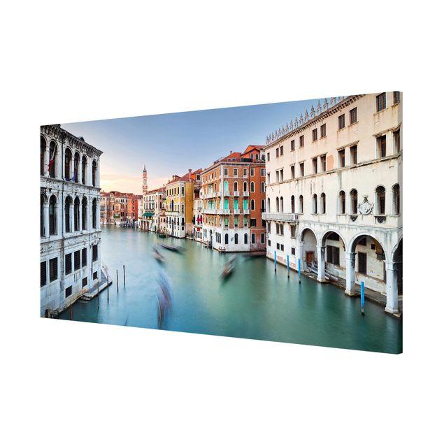 Produktfoto Magnettafel - Canale Grande Blick von der Rialtobrücke Venedig - Memoboard Panorama Querformat 1:2