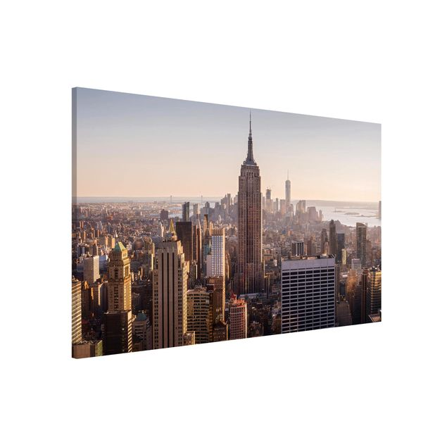 Produktfoto Magnettafel - Blick vom Top of the Rock - Memoboard Querformat 2:3