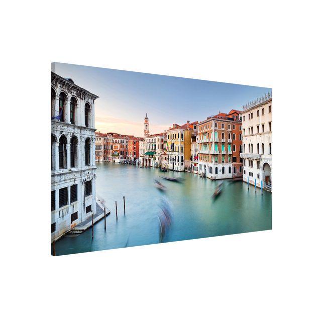 Produktfoto Magnettafel - Canale Grande Blick von der Rialtobrücke Venedig - Memoboard Querformat 2:3