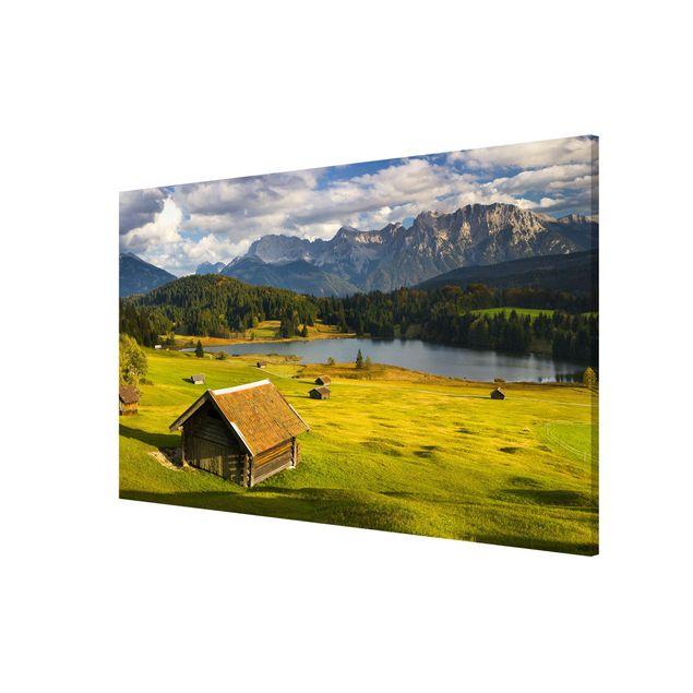 Produktfoto Magnettafel - Geroldsee Oberbayern - Memoboard Querformat 2:3