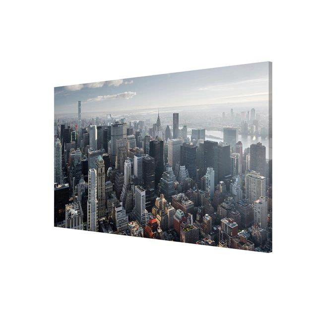 Produktfoto Magnettafel - Upper Manhattan New York City - Memoboard Querformat 2:3