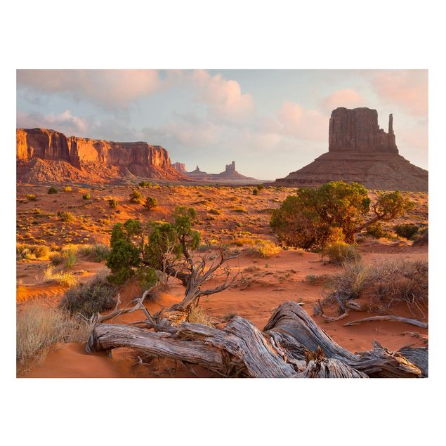 Produktfoto Magnettafel - Monument Valley Navajo Tribal Park Arizona - Memoboard Querformat 3:4