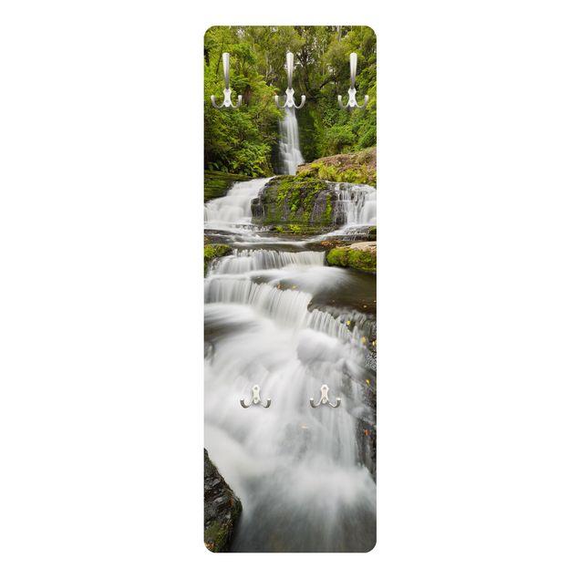 Produktfoto Garderobe - Upper McLean Falls in Neuseeland