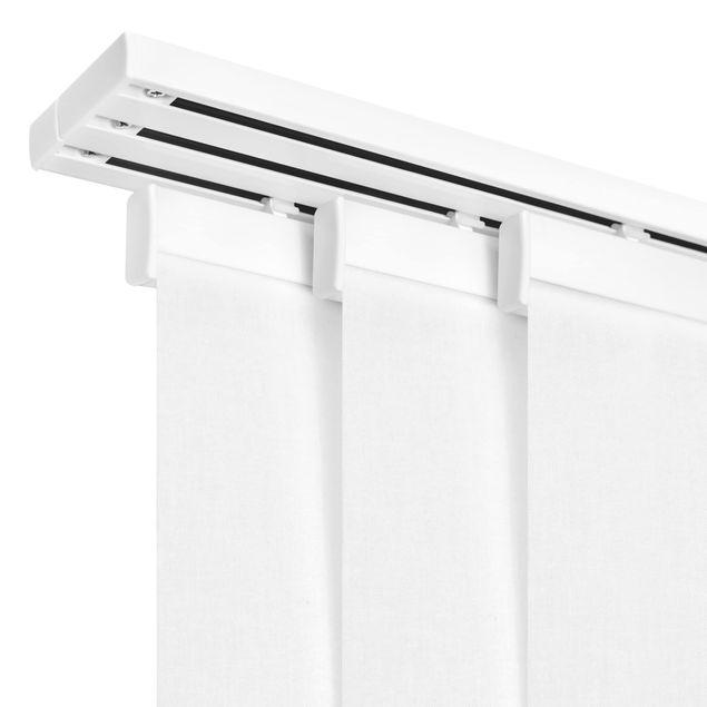 Produktfoto Schiebegardinen Set - Buchen mit Rauhreif - 4 Flächenvorhänge