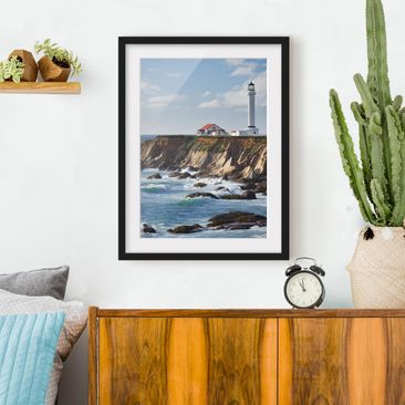 Produktfoto Framed print - Point Arena Lighthouse...