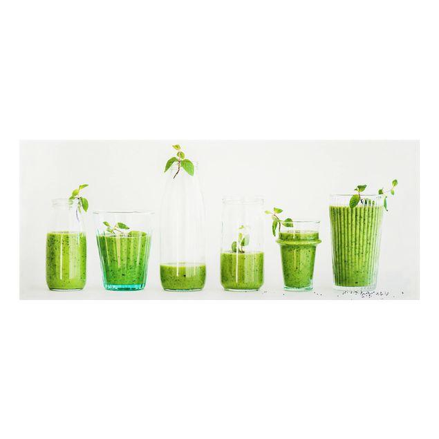 Produktfoto Spritzschutz Glas - Grüne Smoothie Kollektion - Panorama