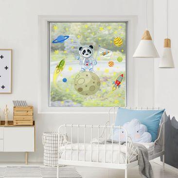 Product picture Window Sticker - Astronaut Panda